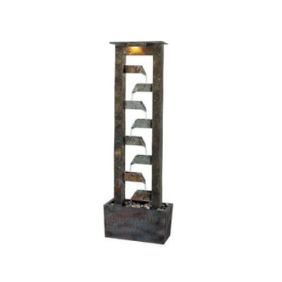 Kenroy Lighting 50254SL Aqueduct Floor Fountain