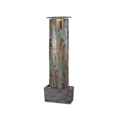 Kenroy Lighting 50255SL Waterwall Floor Fountain