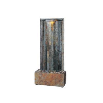 Kenroy Lighting 50285SL Waterwall Table-Wall Fountain