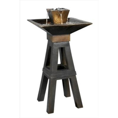 Kenroy Lighting 50613CPBZ Kenei Outdoor Floor Fountain