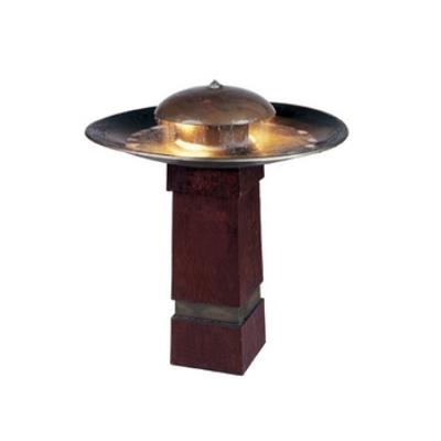 Kenroy Lighting 50720COP Portland Sound Floor Fountain