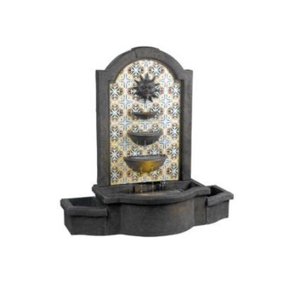 Kenroy Lighting 50721MD Cascada Floor Fountain