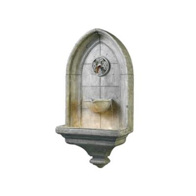 Kenroy Lighting 53265CT Canterbury Wall Fountain