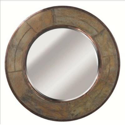 "Kenroy Lighting 60087 Keene - 31"" Round Wall Mirror"