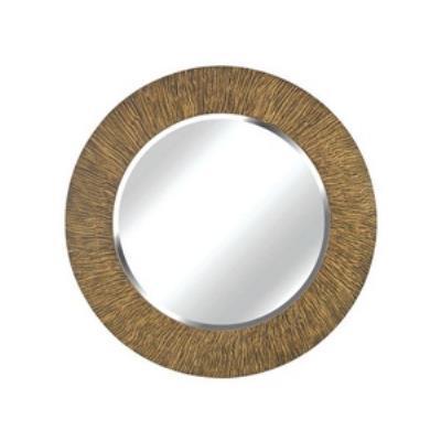 "Kenroy Lighting 60094 Burl - 33"" Wall Mirror"
