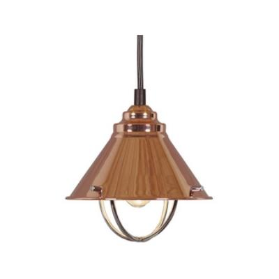 Kenroy Lighting 66342COP Harbour 1 Light Mini Pendant