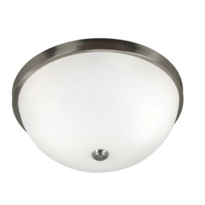 Kenroy Lighting 80395BS Venue 3 Light Flush Mount