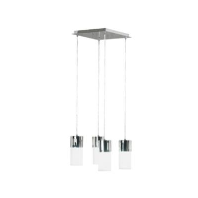 Kenroy Lighting 80505CH Cylinder 4 Light Chandelier