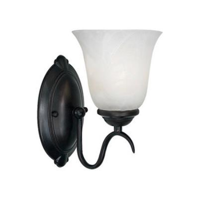 Kenroy Lighting 90211ORB Medusa 1 Light Sconce