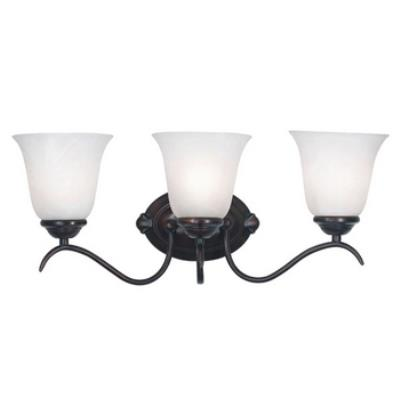 Kenroy Lighting 90213ORB Medusa 3 Light Vanity