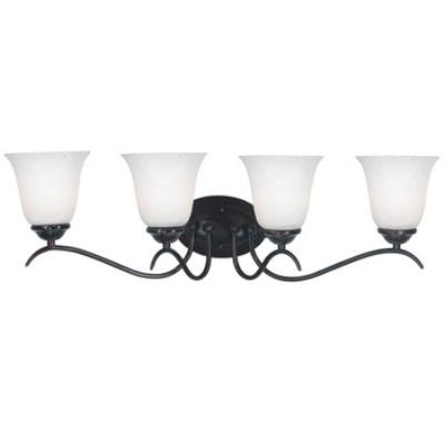 Kenroy Lighting 90214ORB Medusa 4 Light Vanity