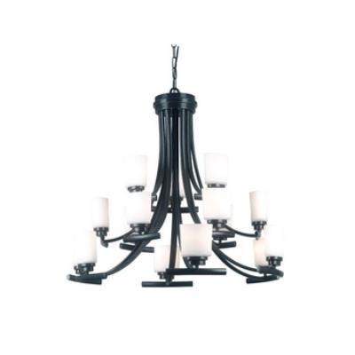 Kenroy Lighting 90378BRZ 15 Light Chandelier