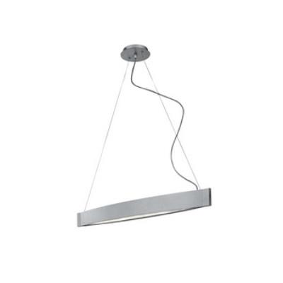 Kenroy Lighting 90860SIL Sopra 2 Light Pendant