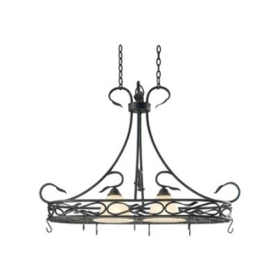 Kenroy Lighting 91562RBRZ Countryside 2 Light Potrack
