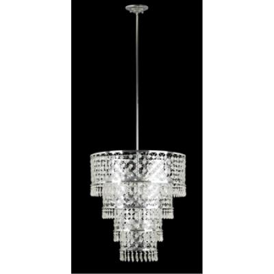 Kenroy Lighting 91776 Facet - Six Light Pendant