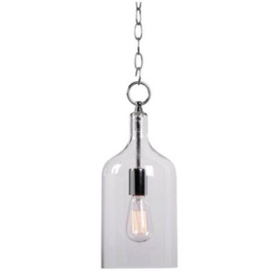 Kenroy Lighting 91831CLR Capri - One Light Mini-Pendant