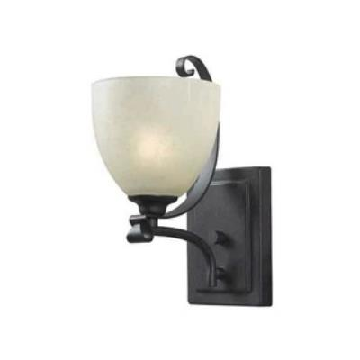 Kenroy Lighting 91911FGRPH Willoughby - One Light Sconce