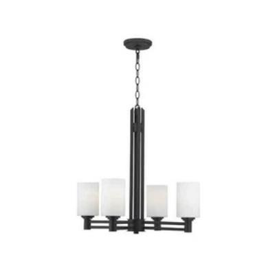 Kenroy Lighting 91932ORB Slender - Four Light Chandelier