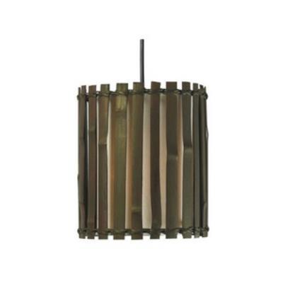 Kenroy Lighting 92037BRZ Grove - One Light Mini-Pendant