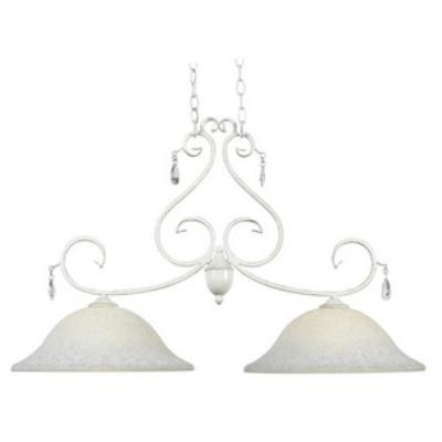 Kenroy Lighting 92048WW Chamberlain - Two Light Island