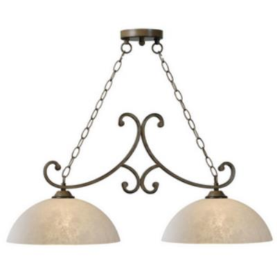 Kenroy Lighting 93212AT Terrain - Two Light Island
