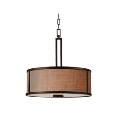 Kenroy Lighting 93363BRZ Keen - Three Light Pendant