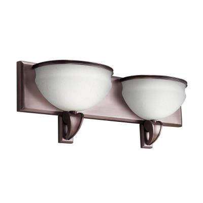 Kichler Lighting 10443RBZ Pierson - Two Light Bath Vanity