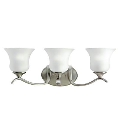 Kichler Lighting 10638NI Wedgeport - Three Light Bath Fixture