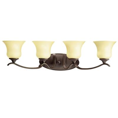 Kichler Lighting 10639OZ Wedgeport - Four Light Bath Fixture