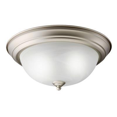 Kichler Lighting 10836NI Two Light Flush Mount