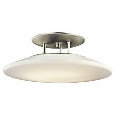 Kichler Lighting 10898NI Ara - One Light Semi-Flush Mount