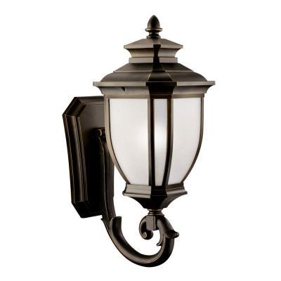 Kichler Lighting 11005RZ Salisbury - One Light Outdoor Wall Lantern