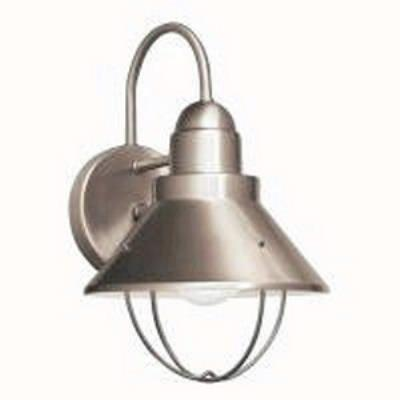 Kichler Lighting 11098NI One Light Outdoor Wall Fixture