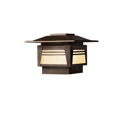 Kichler Lighting 15071OZ Zen Garden - Low Voltage One Light Deck Post Lamp