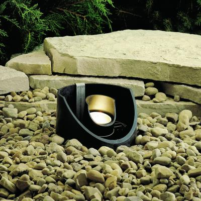Kichler Lighting 15092BKT Low Voltage One Light In Ground Lamp