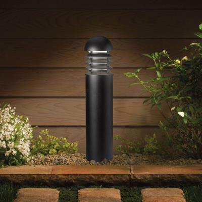 Kichler Lighting 15226BKT One Light HID Bollard Lamp
