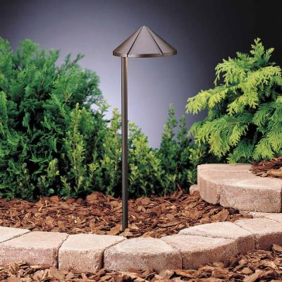 Kichler Lighting 15315AZT6 Six Groove - Low Voltage Path and Spread Light