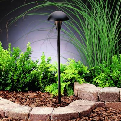 Kichler Lighting 15323BKT Eclipse - Low Voltage One Light Path Lamp