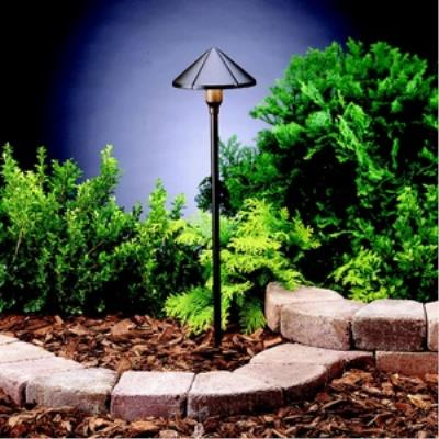 Kichler Lighting 15326AZT Six Groove - Low Voltage One Light Path Lamp