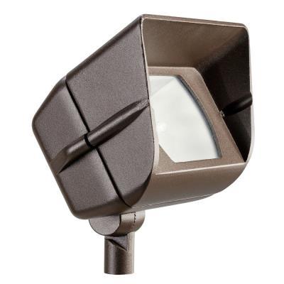 Kichler Lighting 15385AZT Low Voltage One Light Accent Lamp