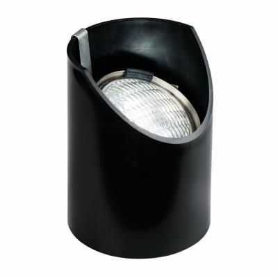 Kichler Lighting 15388BK Low Voltage One Light In Ground Lamp