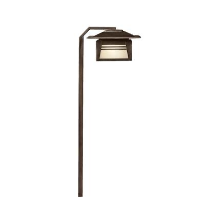 Kichler Lighting 15391OZ Zen Garden - Low Voltage One Light Path and Spread Light