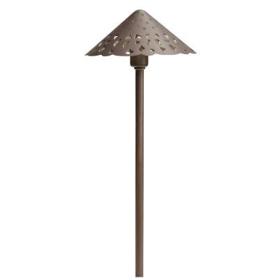 Kichler Lighting 15471BBR Low Voltage Hammered Roof