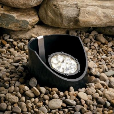 Kichler Lighting 15729BKT Low Voltage 10 Degree LED Well Light