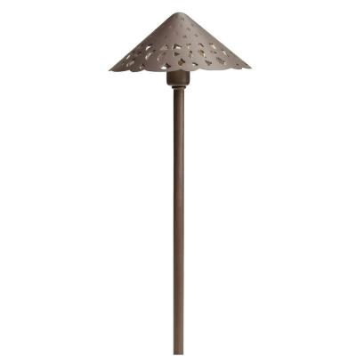 Kichler Lighting 15871BBR Low Voltage LED Hammered Roof