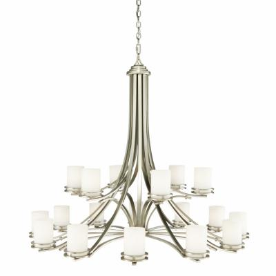 Kichler Lighting 1873NI Hendrik - Eighteen Light Two Tier Chandelier