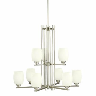 Kichler Lighting 1897NI Eileen - Nine Light Two Tier Chandelier