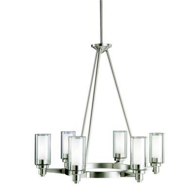 Kichler Lighting 2344NI Circolo - Six Light Chandelier