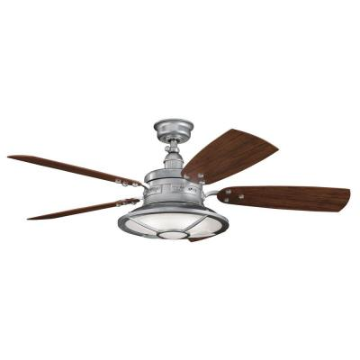 "Kichler Lighting 310102GST Harbour Walk Patio -52"" Ceiling Fan"