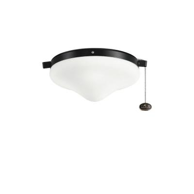 Kichler Lighting 338050SBK Accessory - Two Light Outdoor Ceiling Fan Kit